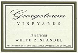 NV Georgetown Vineyards American White Zinfandel 750ml