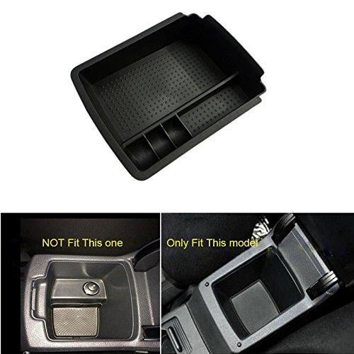 High Flying consola central Apoyabrazos Caja de almacenamiento organizador, recipiente para VW Volkswagen Golf Mk...