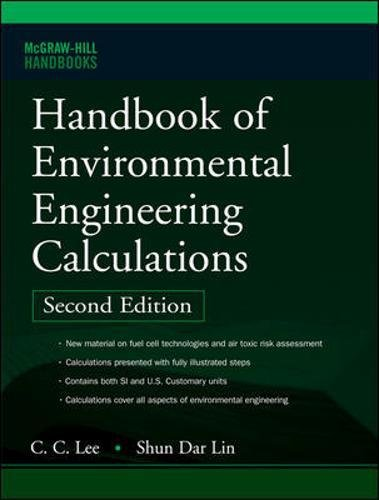 Handbook of Environmental Engineering Calculations 2nd Ed.
