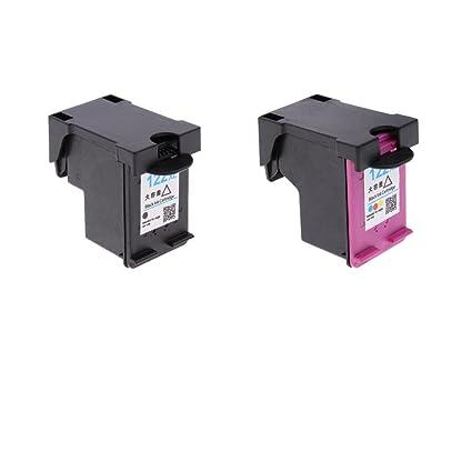 D DOLITY 2Piezas 2Pcs Cartuchos de Tinta 122XL de Impresora ...