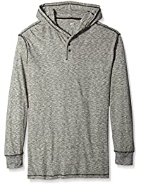 Men's Button Hoodie and Sizes Including Big and Tall