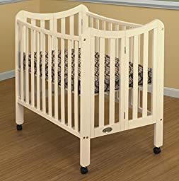 Orbelle Tian Portable Crib, French White