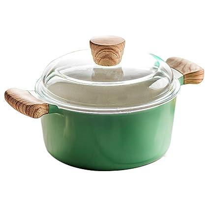 Woks Ollas para Pasta Olla de Sopa Olla de Fideos para el hogar Olla de Sopa