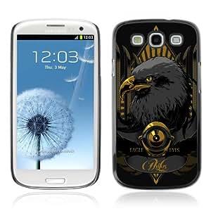 YOYOSHOP [Cool Gold Eagle Illustration] Samsung Galaxy S3 Case