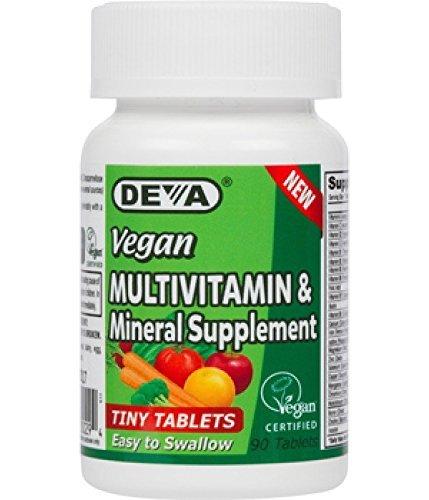 Deva Vegan Vitamins Multivitamin Mineral product image