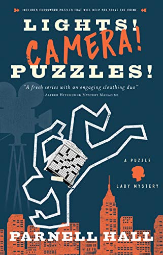 Lights! Camera! Puzzles!: A Puzzle Lady Mystery (Puzzle Lady Mysteries)