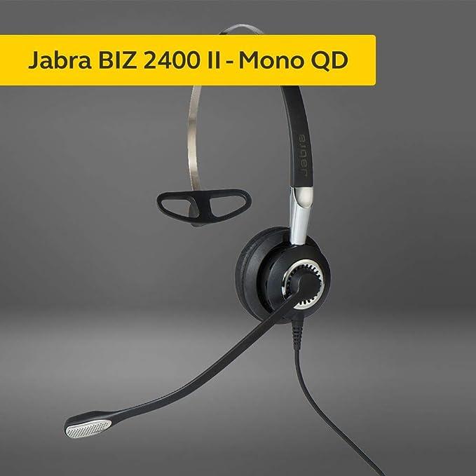 Jabra Biz 2400 Ii Qd On Ear Mono Headset Mit Elektronik