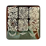 Nicole Diary Elegant Lace Patterns Nail Art Stamp Template Image Plate