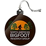 North American Bigfoot Research Group Acrylic Christmas Tree Holiday Ornament