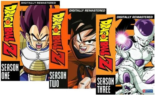 Dragonball Z: Seasons 1-3