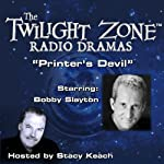 Printer's Devil: The Twilight Zone Radio Dramas | Charles Beaumont