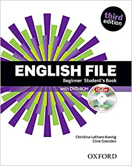 Oxford English File Beginner Third Edition sur Bookys