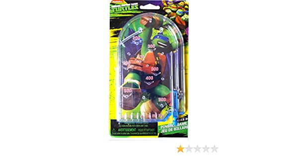 Amazon.com: Ninja Turtles Hand-held Pinball Game (Pack of 1 ...