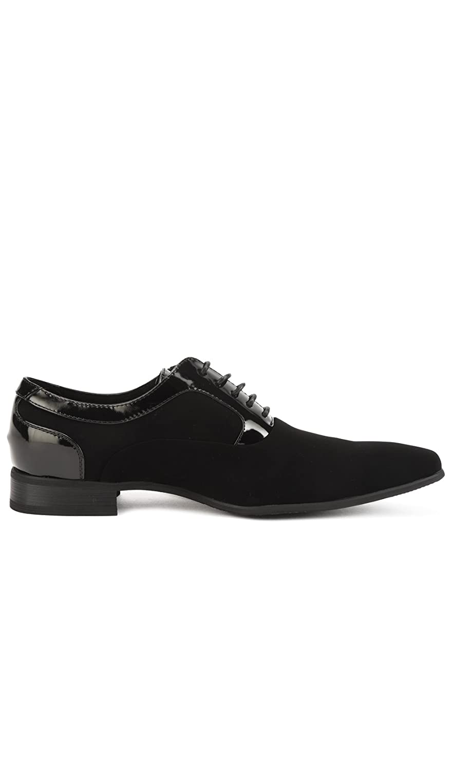 b45a4cbff97 Amazon.com | Shoes with lace with Pointed Toe Perm Men Black | Shoes