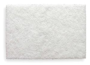 20/pack 3m 7445 Ld Wht Scotch-brite Pad 6x9