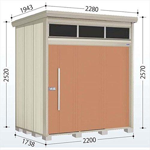 タクボ物置 JNA/トールマン ブライト JNA-2217T 一般型 標準屋根 『屋外用中型大型物置』 トロピカルオレンジ B01LZ1FOCG