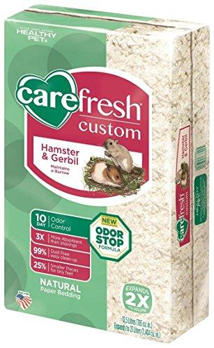 CareFresh Custom Hamster & Gerbil Bedding – White – 23 lt