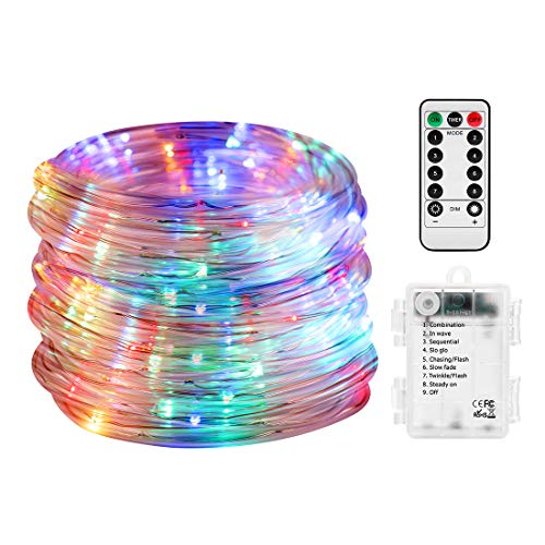 Multi Coloured Outdoor Rope Lights in US - 3