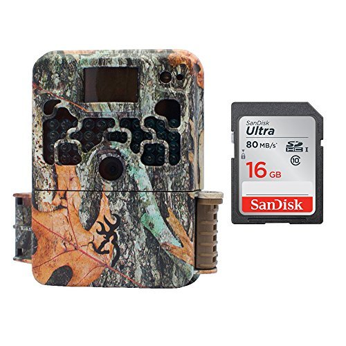 Browning STRIKE FORCE HD 850 Micro Trail Camera (16MP) with 16GB Memory Card by Browning Trail Cameras