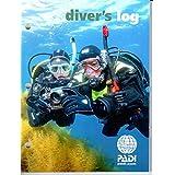 PADI Diver's Log Book for Scuba Diving, Snorkeling or Water Sports