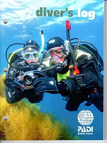 PADI Refill Log Book - Red by Padi