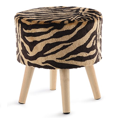 Cheer Collection Tiger Stripe Ottoman and Footstool 13