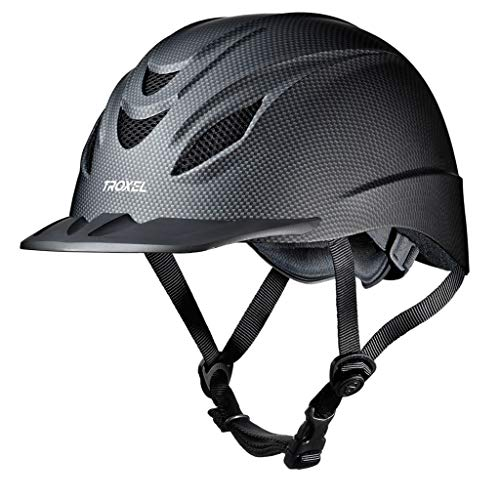 - Troxel Intrepid Carbon Grey Safety Horse Riding Training Adjustable Helmet (X-Large 7 3/8