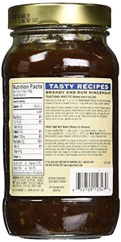 Borden's Rum and Brandy Mincemeat with Raisins & Apples - 27 oz