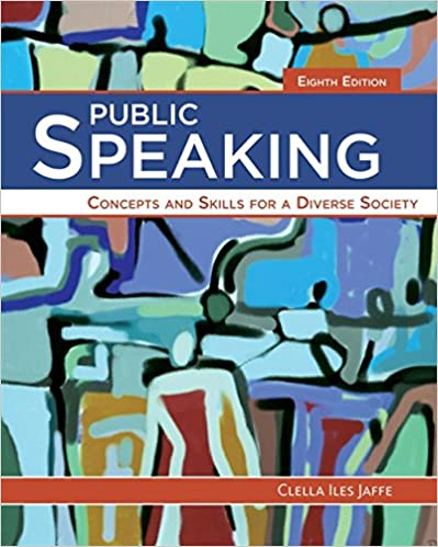 Public Speaking Concepts And Skills For A Diverse Society MindTap Course List 8th Edition