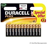 DURACELL Batterie DURACELL Plus Micro-AAA 1,5V 12St