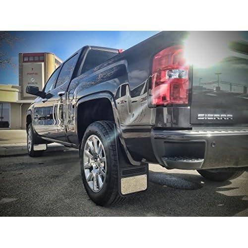 Universal Mud Flaps - Front Razorback Universal Rubber Truck Mud Flaps