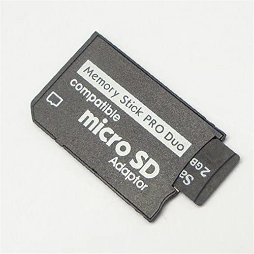 FengShengDa TF//Micro SD to MS pro duo for sony psp card to SD High speed reading transfer card sleeve Non-Retail packaging