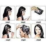 10PCS Black Hair Shampoo White Hair into Black