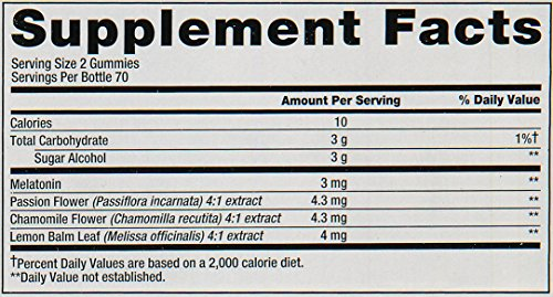 Vitafusion Melatonin Gummies, 140 Count