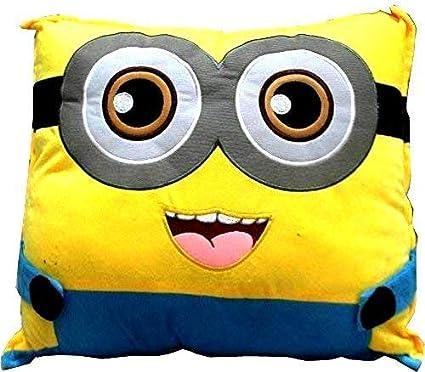 PRACHI TOYS Cute Yellow Pillow Stuffed Soft Plush Soft Toy Kids Birthday(Size _45cm Color_Yellow)