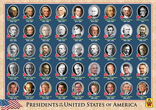 American President Educational Kids Placemats