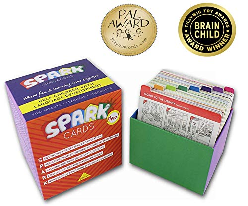 SPARK INNOVATIONS Sequencing Cards for Storytelling and Picture Interpretation Speech Therapy Game, Special Education Materials, Sentence Building, Problem Solving, Improve Language Skills