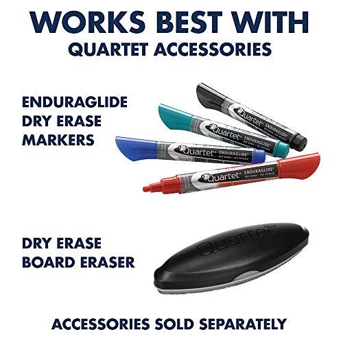 Quartet Easel, Magnetic, 6' x 4', Reversible, Whiteboard/Flipchart, Prestige 2 Mobile Presentation, Graphite Frame (ECM64P2) (Renewed) by Quartet (Image #5)