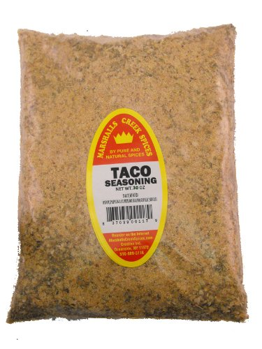 XL REFILL Marshalls Creek Spices Taco Seasoning, 30 Ounce