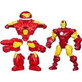 Marvel Super Hero Mashers Iron man mash-up w/ HULK BUSTER BIG PACK