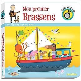 Amazon Fr Livre Musical Mon Premier Brassens Melanie