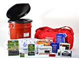 Two Person 7-day Get Ready Kit Perfect for Earthquakes, Hurricanes, Floods, Tornados, Blizzards, Terror Attacks, Survival, Emergencies