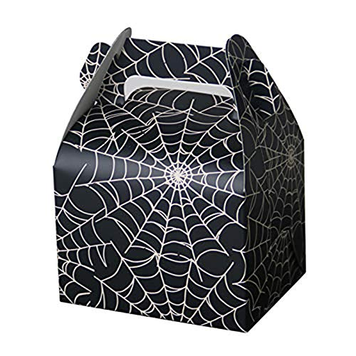 (Gift Bags Wrapping Supplies - Party Favors Boxes Candy Treat Spider Web Gift Wedding Baby Shower Birthday - For Plastic Shave Bird Spiderman Blue Popcorn Paw Macaron Pumpkin)
