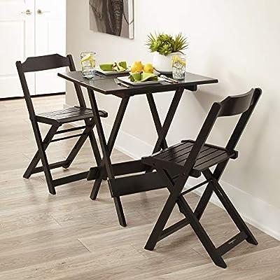 Amazon.com: Plegable Patio sillas de comedor – juego de 2 ...
