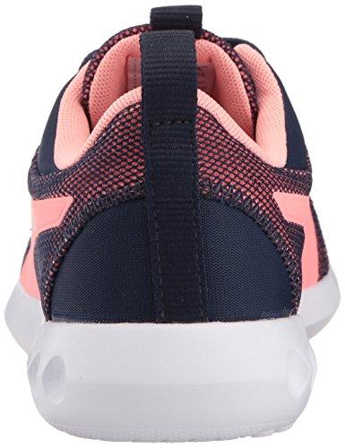 PUMA Unisex-Kids Carson 2 Breathe Sneaker, Peacoat-Soft Fluo Peach, 3 M US Little Kid by PUMA (Image #2)