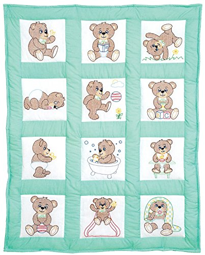 Teddy Bears Nursery Quilt Blocks - Teddy Nursery