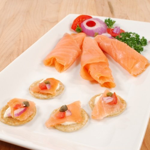 (Scottish Smoked Salmon - Hand-Sliced - Kosher - 1 x 1.0 lb)