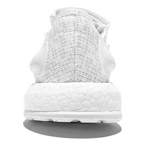 hombre running gris blanco para Zapatillas de adidas Pureboost q1w5Xw60x