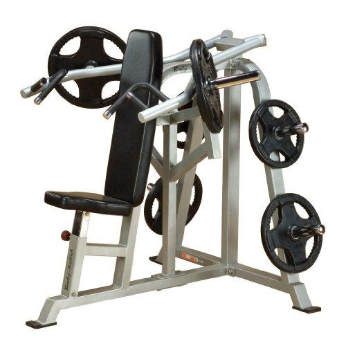 Body Solid Leverage Shoulder Press Bench product image