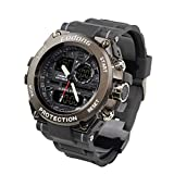 Fodong Mens Waterproof Sport Watches Dual Display Large Dial Sports Watch Casual Digital Watch